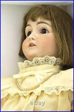 Beautiful 30 Antique JD Kestner #146 Bisque Head Doll Made In Germany M 16