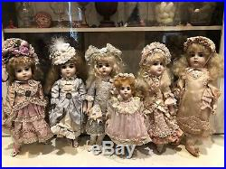 Beautiful Reproduction 10 Antique French Albert Marque Doll by Mindy Wilkerson