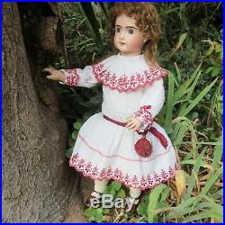 Bebe Thuillier size 11. 24 1/2 V. & G. Period. ANTIQUE FRENCH BISQUE HEAD DOLL