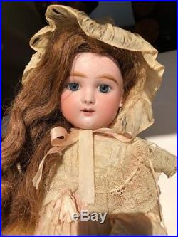 Captivating 20 Eden Bebe French Bisque Doll With Antique Clothing