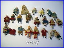 Carl Horn antique miniature German Bisque 21 Doll collection