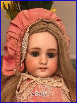 Dep 6 Antique Bisque Doll A Stunning Antique Doll For Display