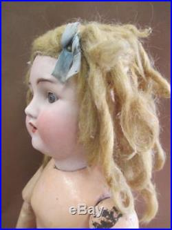 Doll, German bisque and composite, ABG, antique, signed