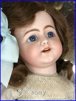 Early 719 Simon Halbig French Market Bisque Doll c1885 Exceptional Eyes 20