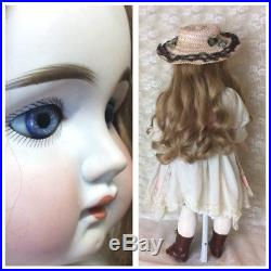 Early Closed Mouth German Doll For French Trade antique Bisque