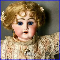 Early XII K Kestner Mystery Doll French Wood-Compo Body Antique Bisque German