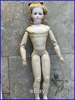 Exceptional French Fashion Bisque Doll Pierre Emile Jumeau