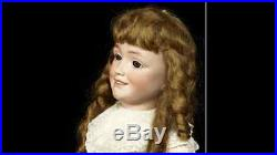 Extraordinary Quality Antique German Bisque Doll 1388 S&h Size 12, Museum Piece