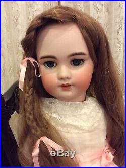 French 27 TETE JUMEAU Antique Bisque Doll
