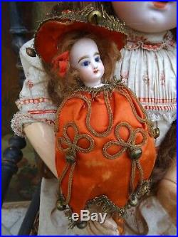 French antique Marotte doll by F. Gaultier in original condition