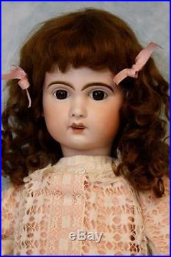 Gorgeous 25 1907 Antique French Bisque Bebe Jumeau Doll Size 10