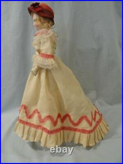 Gorgeous Antique French Fashion Doll-16
