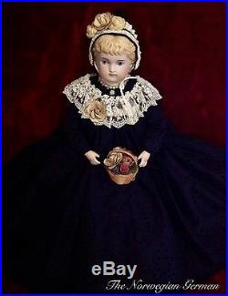 Gorgeous Antique Parian Doll 17 Germany
