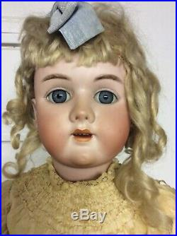 Handwerck Doll Very Large 30 Inch Beautiful From Late 1800s Antique