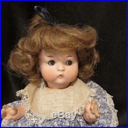 Just Me by Armand Marseille Antique German Bisque Character Googly Doll 310 11