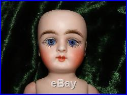 KESTNER 307 CLOSED MOUTH all bisque antique doll 8 very rare German mignonette