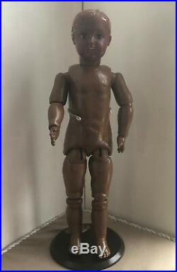 KESTNER antique doll brown, black, dark, mulatto in perfect condition
