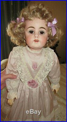 Kestner 156 Antique Doll 30 inches, Hard to Find Mold with no Flaws