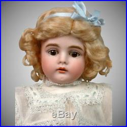 Kestner 164 Antique Bisque Girl Doll 16 on Marked Fully-Jointed Body
