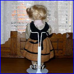 L09 Antique German Candy Container Bisque DRGM Doll, 9 Tall, Original Clothes