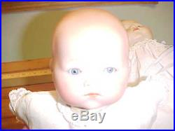 LOT of TWO Bisque Head Antique Baby DOLLS, Armand Marseille Dream Baby +1- Minty