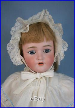 Large 30 Antique German Bisque Doll with Comp Body Handwerck 109