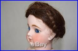 Lovely Antique Jumeau Bebe French Bisque Doll Size 10 Closed Mouth 20 51 cm