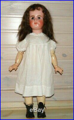 Mystery unknown antique doll French Repro 25