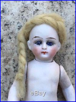 Nice Antique All Bisque French Mignonette Doll