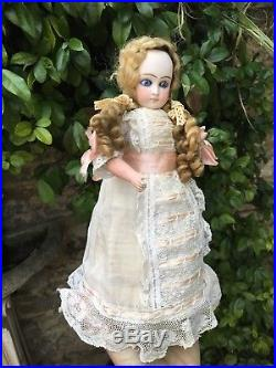 Nice Antique Bisque Doll Music Toy