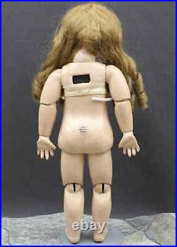 PERFECT SIZE ANTIQUE FRENCH CLOSED MOUTH'TeTe JUMEAU' DOLL