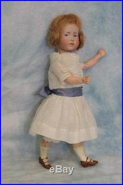 Petite 9 Antique K star R Marie 101 German Bisque Character Doll circa 1910