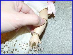 Pretty Antique 14 French Bebe Bisque Unis France Doll Mold 60 71 140 Cabinet Sz