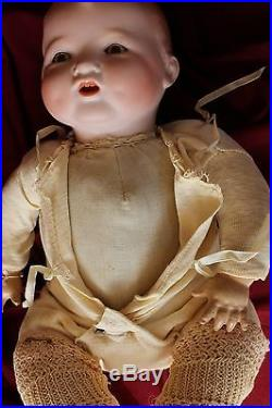 RARE Bisque Head Baby Gloria Doll Marked Baby Gloria Germany Antique clothes