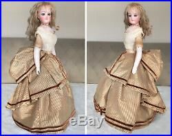 RARE MAGNIFICENT 16 Francois Gaultier ALL ORIGINAL Antique French Fashion Doll