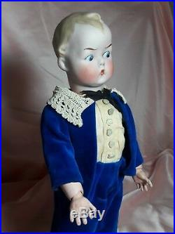 RARE! Unique! Antique Character Doll Bisque Googly Eyes Gbr. Heubach #8556 13