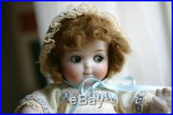 RARE and Authentic KESTNER GOOGLY Eyed All Bisque Jointed Limb 6 Doll