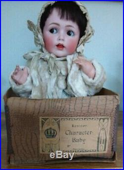 Rare 16 Inch Kestner Mold 257 Flirty Eyed Character Baby In Original Box