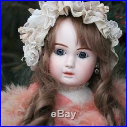 Rare Antique French STEINER Doll c1880 27.6 Closed Mouth Museum Item