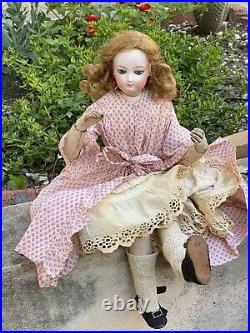 Rare French Fashion Bisque Doll Pierre François Marseille 18 Inches