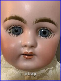 Rare Kestner Bisque Doll C 160 7 with Working Crier Marked Body 2-wigs