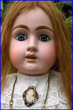 Rare Large Antique 29 French Bebe Jullien Size 11 Bisque Head Doll circa. 1890