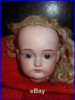 Rare antique bisque doll head # 174 by Kestner approx. 4.2
