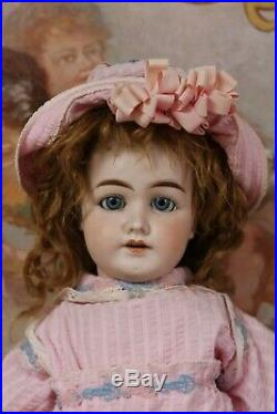 Rare unknown antique doll 1902/5 for French Trade 60 cm