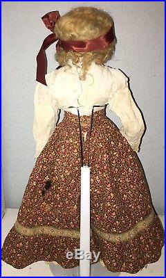 Reduced! Antique CM/Turned Head Bisque Doll