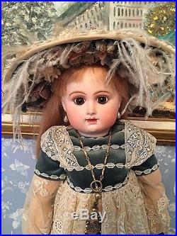 Reproduction Antique Bisque Head Doll with Composition Body R&D by Jamie Englert