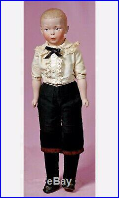 STUNNING Whistling Jim German Character Antique Doll By Gebruder Heubach