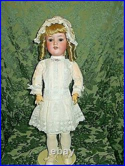 SWEET 20 ANTIQUE BISQUE HEAD ARMAND MARSEILLE DOLL With KESTNER COMPO BODY