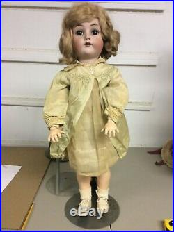 Simon And Halbig K & R Doll 26 Inch Late 1800s True Antique