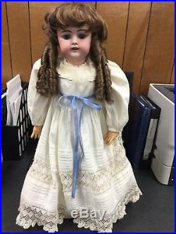 Simon & Halbig 1079 Dep 12 Antique Vintage Doll Made In Germany 27 Bisque Hd